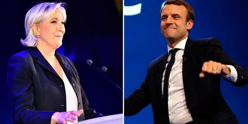 Macron Scores Decisive Win Over Le Pen In French Presidential Election