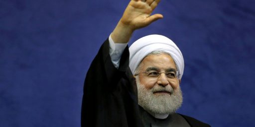 Iranian President Rouhani Overwhelmingly Re-Elected
