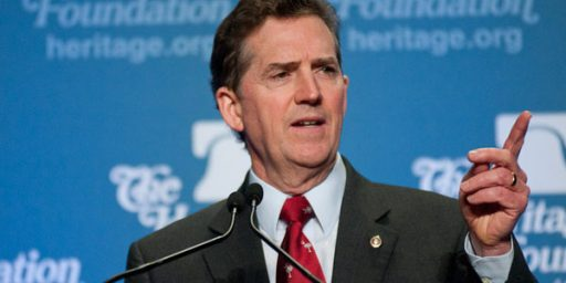 Jim DeMint Out At Heritage