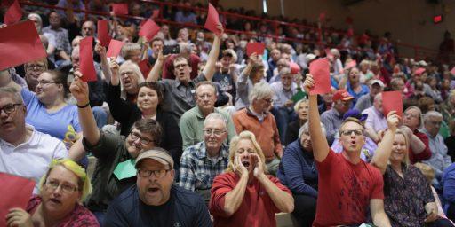 Republicans Face Health Care Blowback At Town Halls