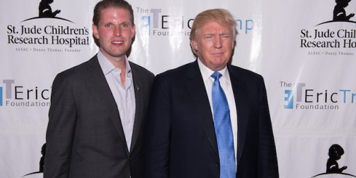 Was Eric Trump's Children's Charity Used To Divert Money To Trump Businesses?