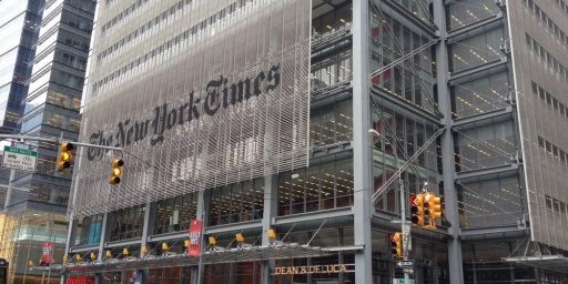 New York Times and the Outrage Mob
