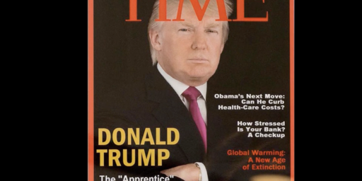 Trump Golf Courses Displaying Fake Time Magazine Cover Featuring Donald Trump