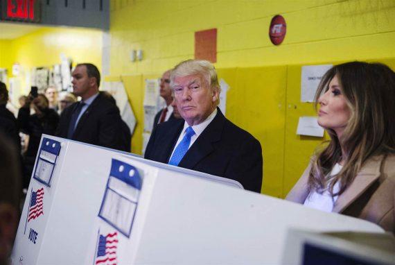 Donald Trump Voting