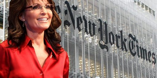 Federal Judge Dismisses Sarah Palin's Lawsuit Against <em>The New York Times</em>