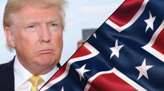 Trump Confederate Flag 2