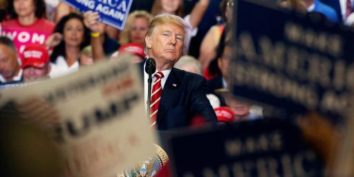 Trump Goes To Phoenix And Returns To Old Form