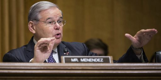 Case Against Senator Bob Menendez Ends In Mistrial