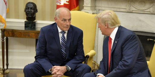 John Kelly Can't Control Donald Trump
