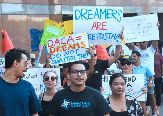 Dream Act Protest