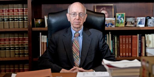 Judge Richard Posner Retires After Nearly Thirty-Six Years On The Bench