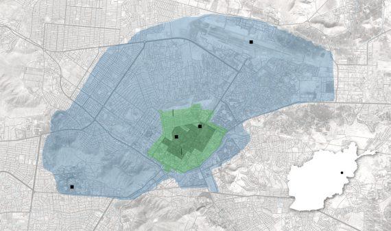 Kabul Map