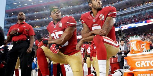 "N.F.L. To Fine Teams If Players Fail To ""Stand And Show Respect"" During National Anthem"