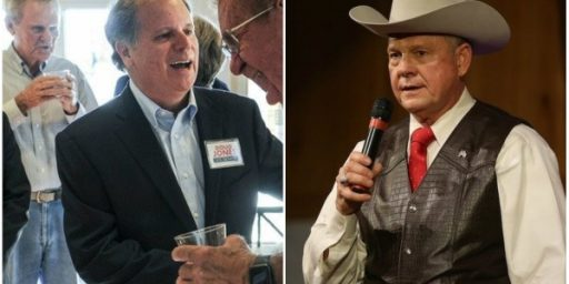 Alabama Senate Election Is A Toss Up, But Moore Seems To Be Favored