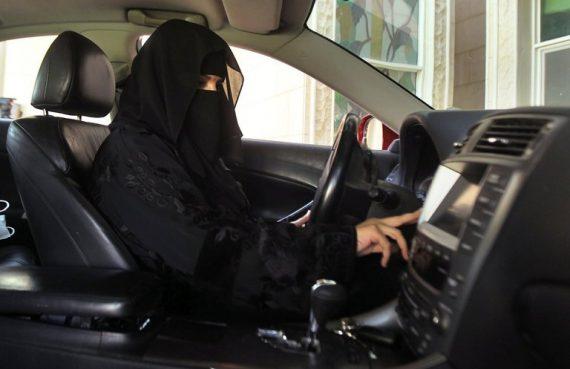 Saudi Woman Driving