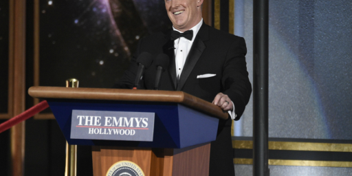Sean Spicer Does The Emmys, And The Punditocracy Freaks Out