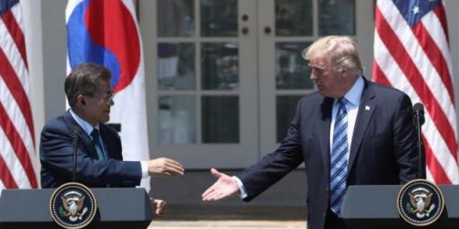 North Korea Rattles Its Saber, So Trump Attacks South Korea
