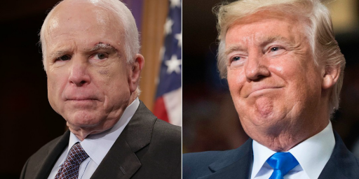 John McCain Is Taking On Donald Trump Without Regret