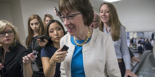 Susan Collins Faces Political Headwinds Back Home