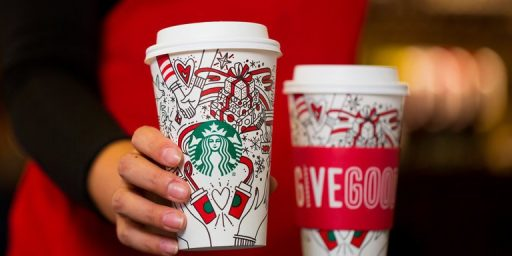 Another Year, Another Stupid Controversy Over Starbucks Holiday Cups