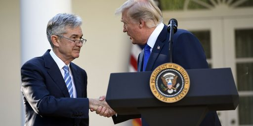 Trump Nominates Jerome Powell To Head Federal Reserve Board