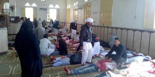 Hundreds Killed In Terrorist Attack On Mosque In Egypt