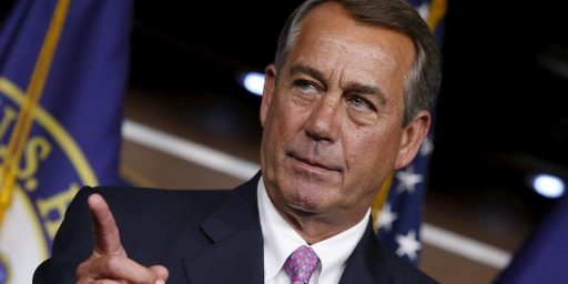 John Boehner, Without A Filter