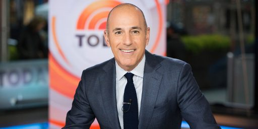 NBC Fires Matt Lauer After Sexual Misconduct Allegations