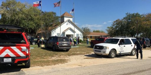 Twenty-Six Killed In South Texas Church Massacre