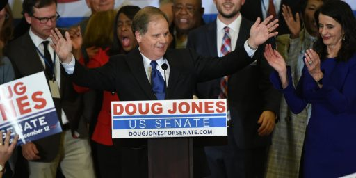 Doug Jones Wins In Alabama