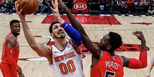 Knicks Center Enes Katner To Be Tried In Abstentia For Criticizing President Of Turkey