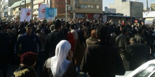 Anti-Government Protests Spread In Iran