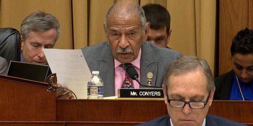 Michigan Congressman John Conyers Retires Amid Sexual Harassment Claims