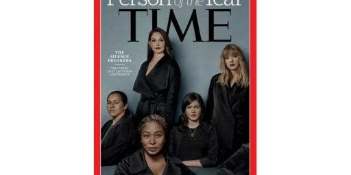 Time Name's 'The Silence Breakers' Of The #MeToo Movement Person Of The Year