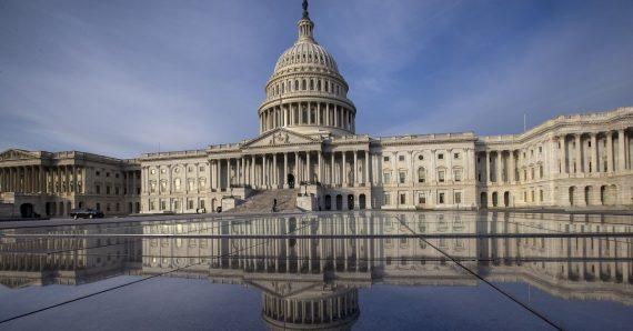 Capitol Building Mirror Image