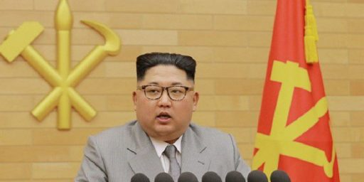 Kim Jong-Un Extends Olive Branch To The South