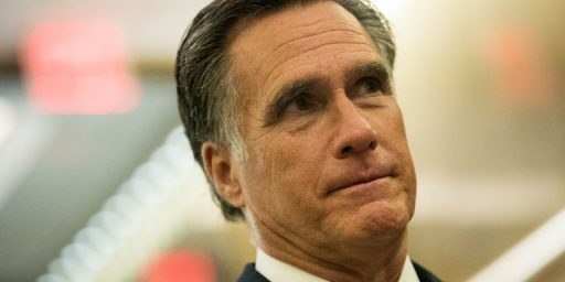 Romney Reportedly Telling Close Associates That He's Running For Senate