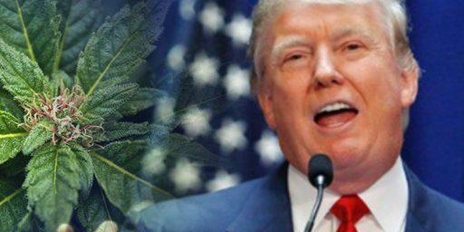 Trump Administration Reverses Obama Era Policy On State Marijuana Legalization