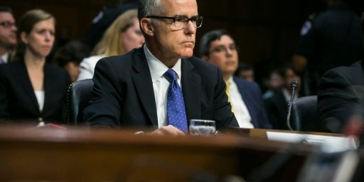 Andrew McCabe Fired Two Days Before Retirement