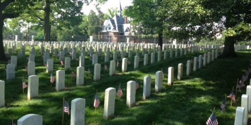 Arlington National Cemetery Will Run Out Of Burial Space By 2040