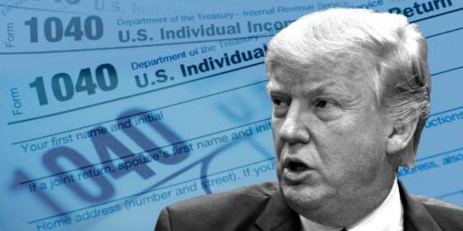 Trump Fighting Congress' Demand for His Tax Returns