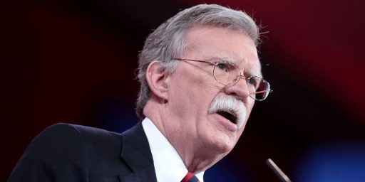 Bolton Plans to Oust Remaining Sane People from NSC