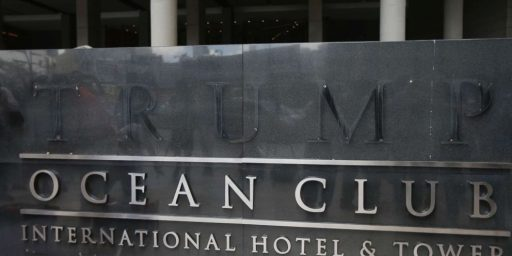 Trump Name Forcibly Removed from Panama Hotel
