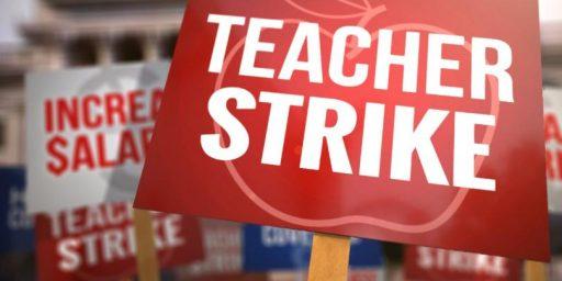 West Virginia Teachers' Strike Nets 5% Raise
