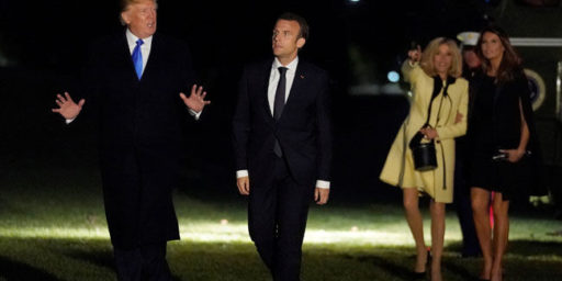 Macron To Lobby Trump On Iran Nuclear Deal