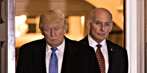 John Kelly Headed To Veterans Affairs?