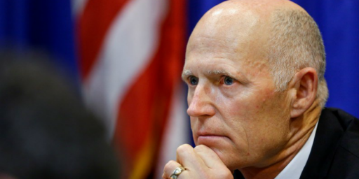 Rick Scott Enters Florida Senate Race, Setting Up 2018's Biggest Battle