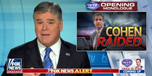 Sean Hannity Is Michael Cohen's Mystery Client, But That Shouldn't Matter
