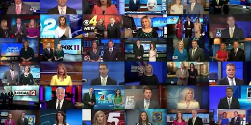 News Anchors At Sinclair Owned Stations Caught Reading From Same Corporate Mandated Script