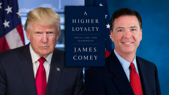 Image result for Trump and Comey